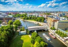 Berlin Potsdam en zijn omgeving stock afbeelding