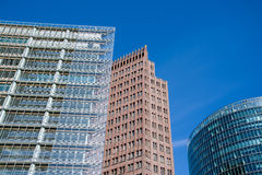 Berlin, Potsdamer Place, Germany Royalty Free Stock Photography