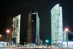 Berlin potsdamer platz Royalty Free Stock Photography