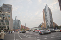 Berlin, Potsdamer Platz Royalty Free Stock Photo