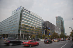 Berlin, Potsdamer Platz Royalty Free Stock Images
