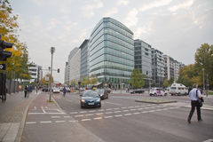 Berlin, Potsdamer Platz Royalty Free Stock Photos