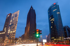 Berlin Potsdamer Platz Royalty Free Stock Photos