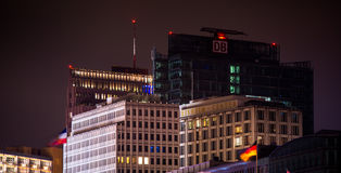 Berlin Potsdamer Platz Stock Images