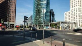 Berlin, Potsdamer Platz, Zeitspanne stock footage