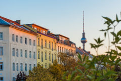 Berlin Prenzlauer Berg Stock Photos