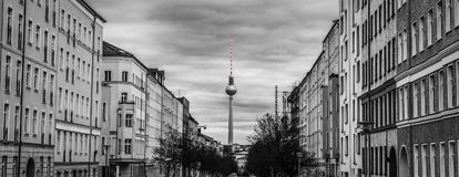 Berlin przez lata obrazy royalty free