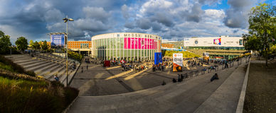 Berlin Radio Show in Messe, Germany Royalty Free Stock Image