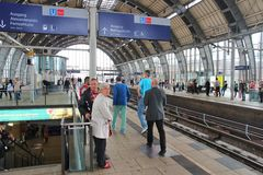 Berlin railway Stock Photography