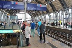 Berlin railway Stock Photography