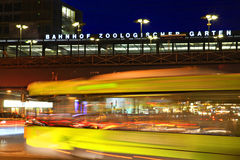 Berlin railway station. Royalty Free Stock Images