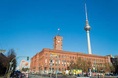 Berlin rathaus Stock Photography