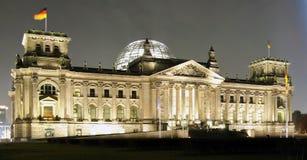 berlin reichstag Royaltyfria Foton