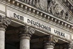 Berlin - Reichstag Stock Photography