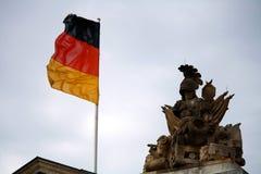 berlin reichstag Fotografering för Bildbyråer