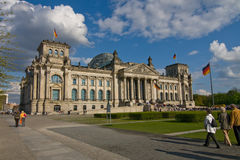 Berlin Reichstag Royalty Free Stock Photography
