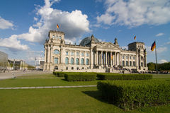 Berlin Reichstag Royalty Free Stock Photo