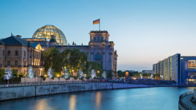 Berlin Reichstag Royalty Free Stock Photos