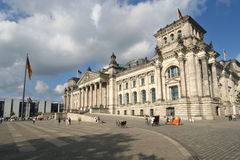 Berlin Reichstag building Royalty Free Stock Image