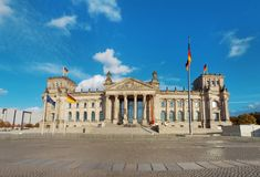 Berlin Reichstag building Stock Images