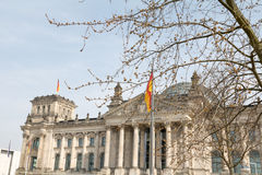 Berlin Reichstag Royalty Free Stock Images