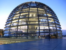 Berlin Reichstag dome. The glass dome on the top of the Reichstag in Berlin Royalty Free Stock Images