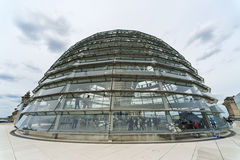 Berlin Reichstag dome Royalty Free Stock Image