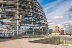 Berlin Reichstag Dome Stock Images