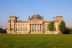 Berlin Reichstag German Parliament fotografía de archivo