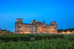 Reichstag - Berlin - Germany Stock Photo