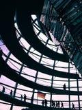 Berlin Reichstag Kopuła - Obrazy Royalty Free