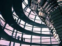 Berlin Reichstag Kopuła - Obraz Stock