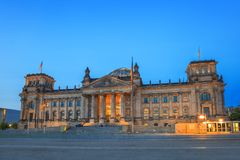 Reichstag - Berlin - Germany Royalty Free Stock Photo