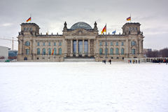 Berlin Reichstag Parliament Royalty Free Stock Photo