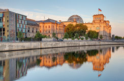 Berlin Reichstag. Reichstag Building in Berlin, Germany Royalty Free Stock Image