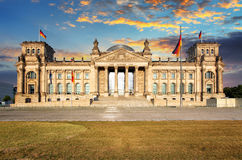 Berlin, Reichstag Royalty Free Stock Images