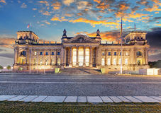 Berlin, Reichstag Royalty Free Stock Photos