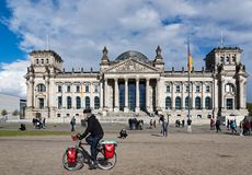 berlin reichstagu Zdjęcia Stock