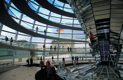 berlin reichstagu kopuły