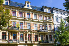 Berlin Historic Apartment House Royalty Free Stock Photography