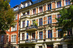 Berlin Historic Apartment House Royalty Free Stock Photo
