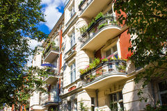 Berlin Historic Apartments Stock Images