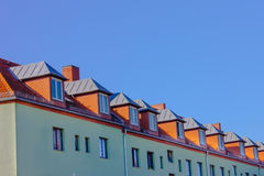 Berlin Residential Apartment House Stock Photo
