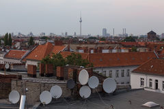 Berlin rooftop views Stock Photo
