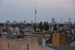 Berlin rooftop views Royalty Free Stock Image