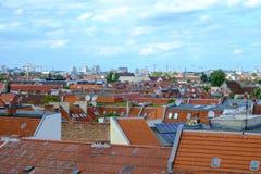 Berlin Rooftops stockbilder