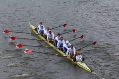 Berlin Rowing-rassen in het Hoofd van Charles Regatta royalty-vrije stock foto's