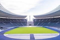 Berlin& x27; s奥林匹亚体育场 免版税库存照片