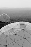 Berlin's abandoned NSA listening station. Near Grunewald lies Teufelsberg, an artificial hill made from bombed-out World War II rubble whose name, in German Stock Photos