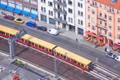 Berlin S-Bahn Royalty Free Stock Photography